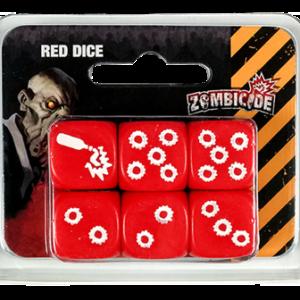 Dados Zombicide Rojo