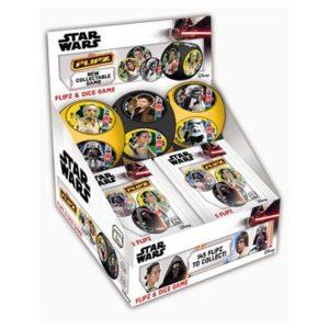 Star Wars Flipz Display & Dice Game