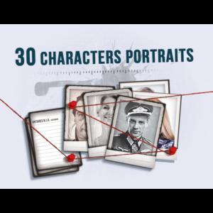 Detective: 30 Character Portraits – Mini Expansion