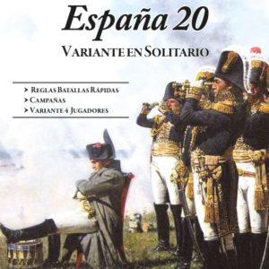 España 20 – Pack solitario y creación de ejércitos