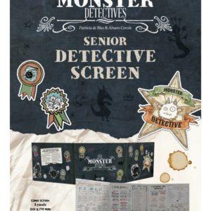 Little Monster Detectives and Senior Detective Screen (Inglés)
